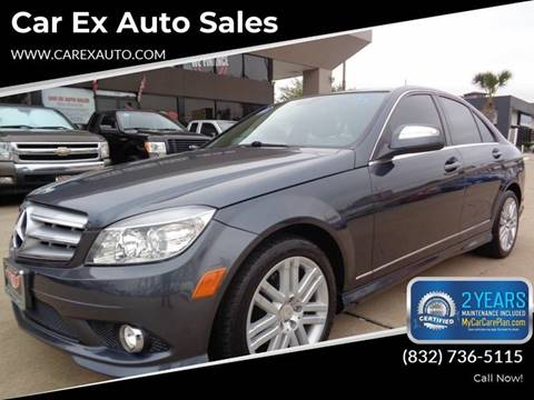 2008 Mercedes-Benz C-Class for sale at Car Ex Auto Sales in Houston TX
