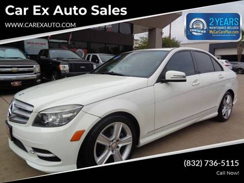 2011 Mercedes-Benz C-Class for sale at Car Ex Auto Sales in Houston TX