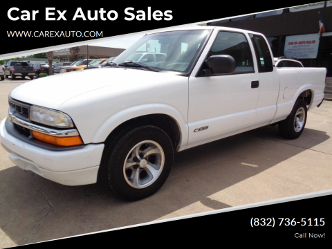 2000 Chevrolet S-10 for sale at Car Ex Auto Sales in Houston TX
