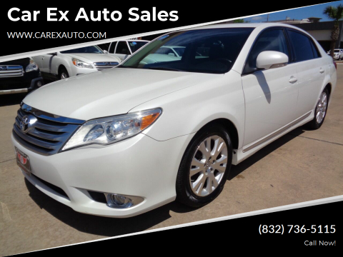 2012 Toyota Avalon for sale at Car Ex Auto Sales in Houston TX