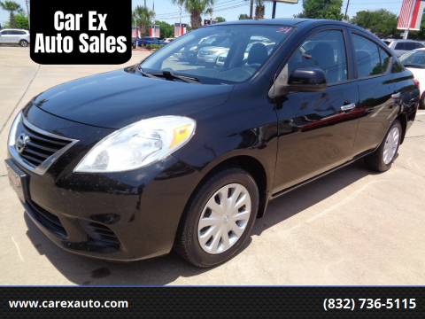 2012 Nissan Versa for sale at Car Ex Auto Sales in Houston TX