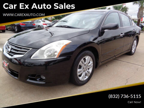 2012 Nissan Altima for sale at Car Ex Auto Sales in Houston TX