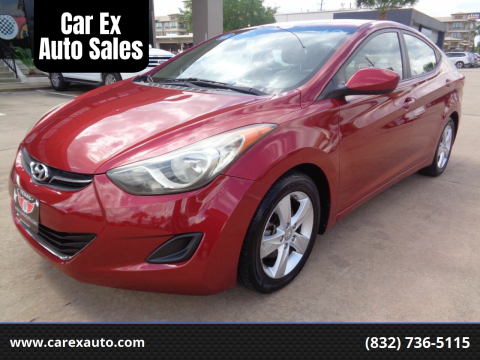 2013 Hyundai Elantra for sale at Car Ex Auto Sales in Houston TX