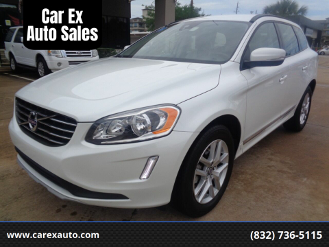 2017 Volvo XC60 for sale at Car Ex Auto Sales in Houston TX