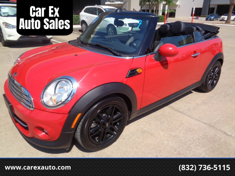 2013 MINI Convertible for sale at Car Ex Auto Sales in Houston TX