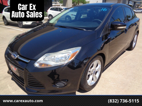 2014 Ford Focus for sale at Car Ex Auto Sales in Houston TX