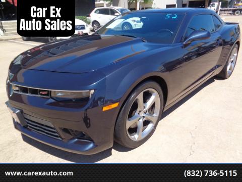 2014 Chevrolet Camaro for sale at Car Ex Auto Sales in Houston TX