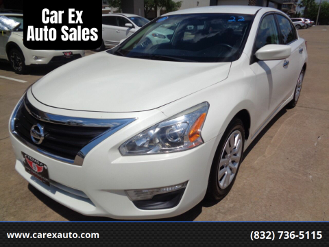 2013 Nissan Altima for sale at Car Ex Auto Sales in Houston TX
