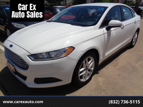 2014 Ford Fusion for sale at Car Ex Auto Sales in Houston TX