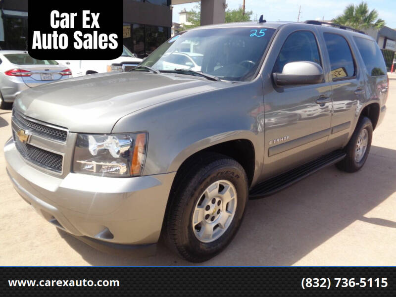 2007 Chevrolet Tahoe for sale at Car Ex Auto Sales in Houston TX
