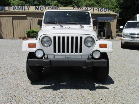 1999 Jeep Wrangler for sale in Gainesville, GA