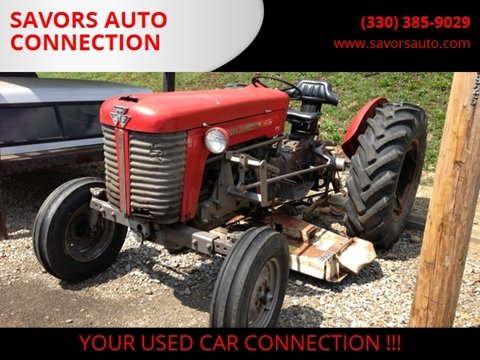 1965 MASSEY FERGUSON 65 for sale at SAVORS AUTO CONNECTION LLC in East Liverpool OH
