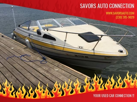 1986 Bayliner Capri 1900 CUDDY for sale at SAVORS AUTO CONNECTION LLC in East Liverpool OH