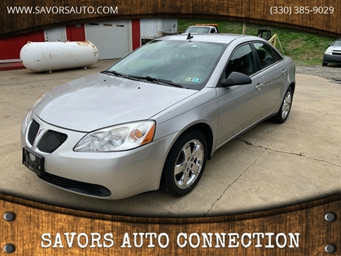 2008 Pontiac G6 for sale in East Liverpool, OH