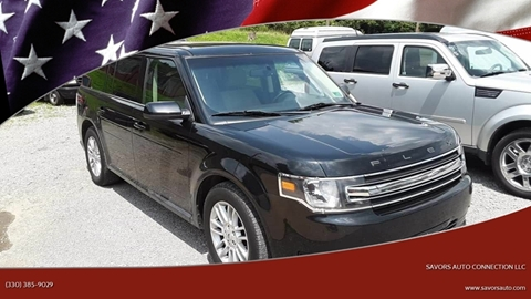 2013 Ford Flex SEL for sale at SAVORS AUTO CONNECTION LLC in East Liverpool OH