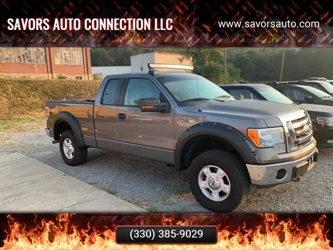 2011 Ford F-150 for sale at SAVORS AUTO CONNECTION LLC in East Liverpool OH