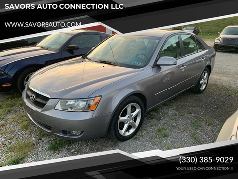 2006 Hyundai Sonata for sale at SAVORS AUTO CONNECTION LLC in East Liverpool OH