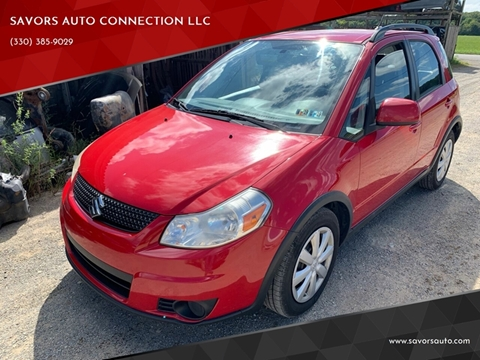 2011 Suzuki SX4 Crossover for sale at SAVORS AUTO CONNECTION LLC in East Liverpool OH