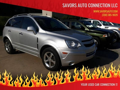 2012 Chevrolet Captiva Sport for sale at SAVORS AUTO CONNECTION LLC in East Liverpool OH