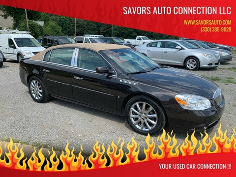 2008 Buick Lucerne for sale at SAVORS AUTO CONNECTION LLC in East Liverpool OH
