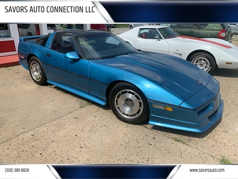 1987 Chevrolet Corvette for sale at SAVORS AUTO CONNECTION LLC in East Liverpool OH