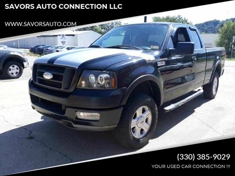 2004 Ford F-150 for sale at SAVORS AUTO CONNECTION LLC in East Liverpool OH