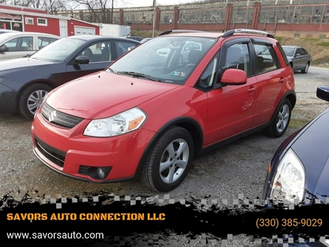 2009 Suzuki SX4 Crossover for sale at SAVORS AUTO CONNECTION LLC in East Liverpool OH