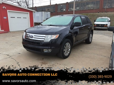 2007 Ford Edge SEL Plus for sale at SAVORS AUTO CONNECTION LLC in East Liverpool OH
