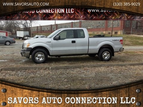 2010 Ford F-150 for sale at SAVORS AUTO CONNECTION LLC in East Liverpool OH