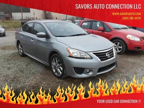 2013 Nissan Sentra for sale at SAVORS AUTO CONNECTION LLC in East Liverpool OH