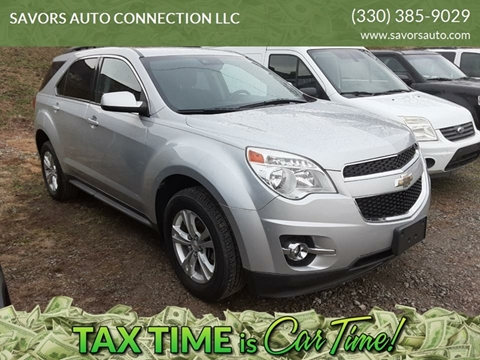 2015 Chevrolet Equinox LT for sale at SAVORS AUTO CONNECTION LLC in East Liverpool OH