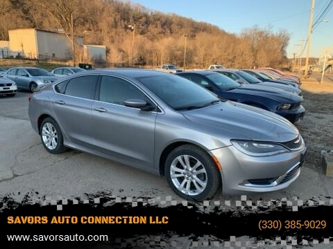 2015 Chrysler 200 Limited for sale at SAVORS AUTO CONNECTION LLC in East Liverpool OH