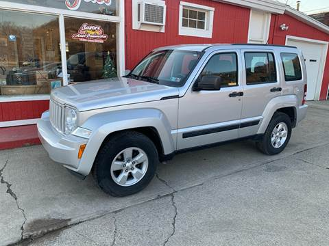 2012 Jeep Liberty Sport for sale at SAVORS AUTO CONNECTION LLC in East Liverpool OH