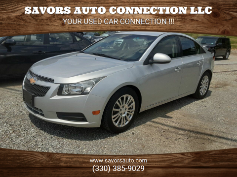 2012 Chevrolet Cruze for sale at SAVORS AUTO CONNECTION LLC in East Liverpool OH