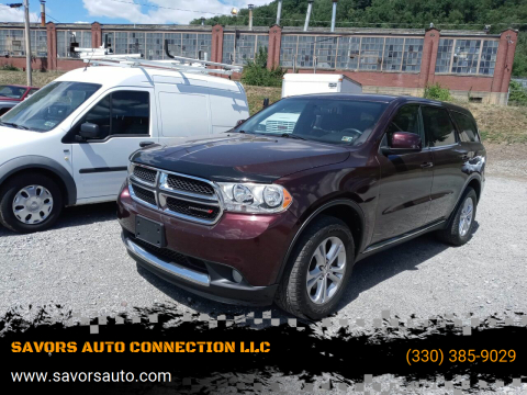 2012 Dodge Durango for sale at SAVORS AUTO CONNECTION LLC in East Liverpool OH