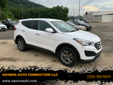 2016 Hyundai Santa Fe Sport for sale at SAVORS AUTO CONNECTION LLC in East Liverpool OH
