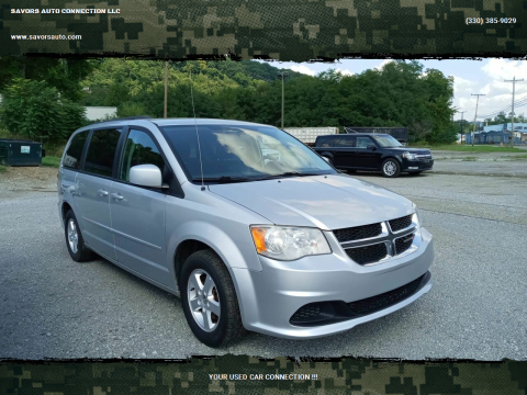 2012 Dodge Grand Caravan for sale at SAVORS AUTO CONNECTION LLC in East Liverpool OH