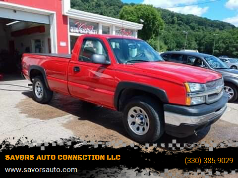 2005 Chevrolet Silverado 1500 for sale at SAVORS AUTO CONNECTION LLC in East Liverpool OH