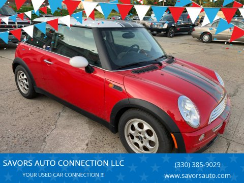 2002 MINI Cooper for sale at SAVORS AUTO CONNECTION LLC in East Liverpool OH