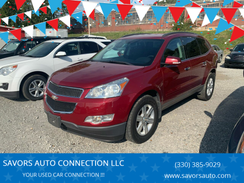 2011 Chevrolet Traverse for sale at SAVORS AUTO CONNECTION LLC in East Liverpool OH