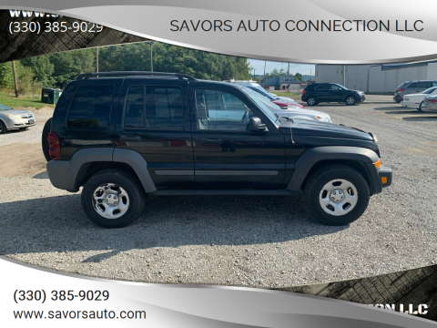 2005 Jeep Liberty for sale at SAVORS AUTO CONNECTION LLC in East Liverpool OH