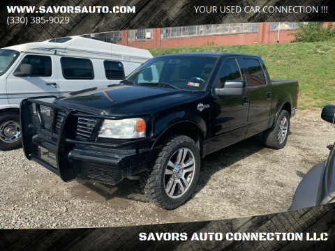2007 Ford F-150 for sale at SAVORS AUTO CONNECTION LLC in East Liverpool OH
