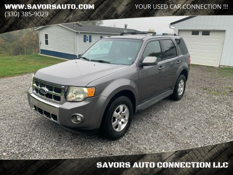 2009 Ford Escape for sale at SAVORS AUTO CONNECTION LLC in East Liverpool OH