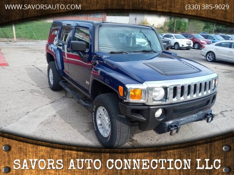 2009 HUMMER H3 for sale at SAVORS AUTO CONNECTION LLC in East Liverpool OH