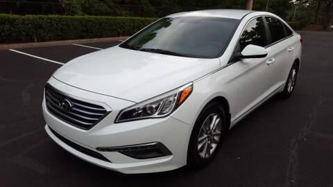 2015 Hyundai Sonata for sale at memar auto sales, inc. in Marietta GA