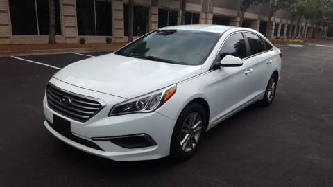 2017 Hyundai Sonata for sale at memar auto sales, inc. in Marietta GA
