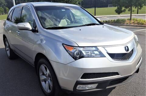 2012 Acura MDX for sale at memar auto sales, inc. in Marietta GA