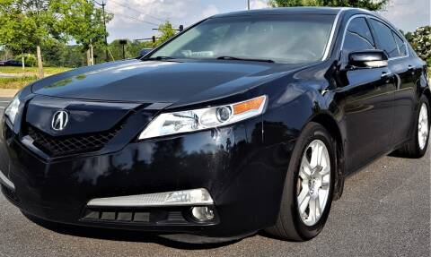 2010 Acura TL for sale at memar auto sales, inc. in Marietta GA