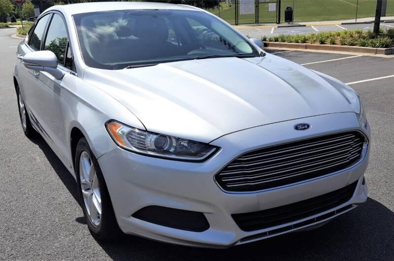 2016 Ford Fusion for sale at memar auto sales, inc. in Marietta GA