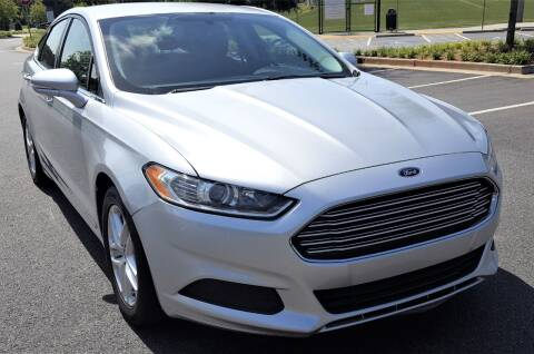 2016 Ford Fusion for sale at memar auto sales, inc. in Marietta GA